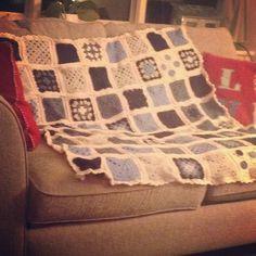 Crochet side project Blanket, Crochet, Projects, Log Projects, Blankets, Knit Crochet, Crocheting, Comforter, Chrochet