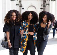 Beautiful curl friends!  www.talktresses.com