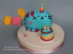 Le Delizie di Ve: PUSHEEN CAKE TOPPER
