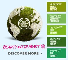 The Body Shop - Beauty Products inspired by Nature and Ethically made
