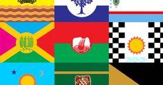 Professor cria bandeiras de bairros do Rio e quer oficializá-las em concurso