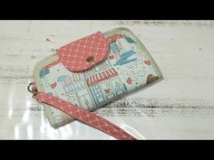 Fabric Wallet, Patchwork Bags, Paris, Coin Purse, Youtube, Sewing, Instagram, Fabric Purses, Creativity