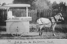 """Wright's """"Puritan"""" ice cream cart - Bega, NSW"""