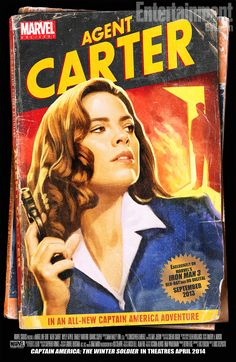 'Marvel One-Shot: Agent Carter' -- FIRST LOOK at new short film! | Inside Movies | EW.com <- I love the old vintage look they have for this! :D <3