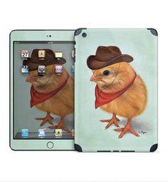 Cowboy chick iPad skin for iPad Mini/Retina iPad by MimoCadeaux, $50.00