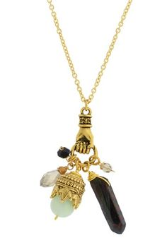 Hand Cluster Necklace by LEILA on @HauteLook 33.97