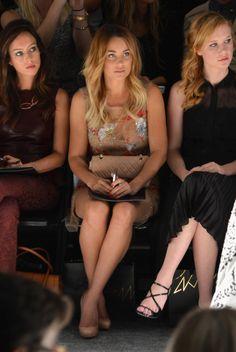 Lauren Conrad - Front Row - Spring 2013 Mercedes-Benz Fashion Week - Pictures - Zimbio