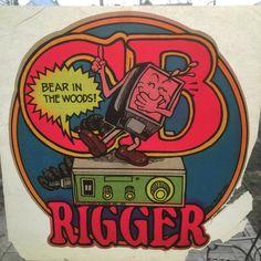 CB Rigger - Bear in the Woods Vintage 1975 Holoubek Studios Iron On Heat Transfer Vintage Iron, Vintage Tees, Iron On Transfer, Heat Transfer, Commercial Art, Retro Shirts, True Colors, Childhood Memories, Etsy Seller