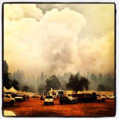 The Rim Fire Aug 2013 - Groveland, CA (just outside of Yosemite National Park