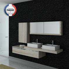DIS9551SC Meuble salle de bain scandinave #meubles #salledebain #design