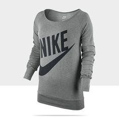 Nike Store. Nike Logo Women's Sweatshirt