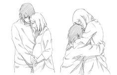 Sasuke and Sakura are so cute.