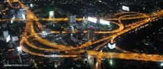 Bangkok von oben bei Nacht Thailand, Bangkok, Opera House, Night, Taekook, Opera