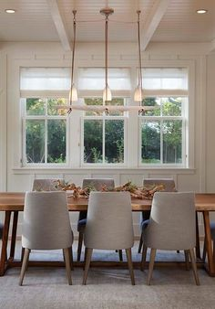 Farmhouse Dining Room by Modern Organic Interiors