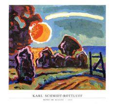 Mond im August, 1963 Karl Schmidt-Rottluff