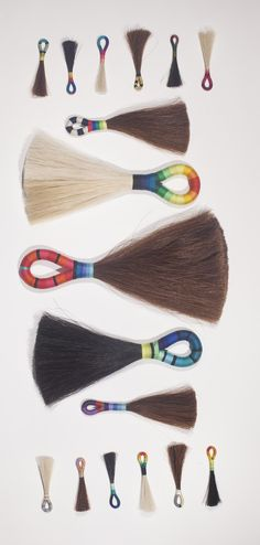 hmmm...a great idea for native crafts... horse hair tassels by fredericks & mae