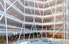 The New Administrative Center of Belo Horizonte by Gustavo Penna e Associados as Architects