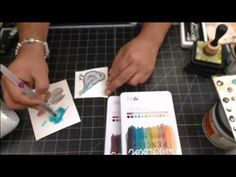 Mixed Media Tags with Frank Garcia on Live with Prima - YouTube