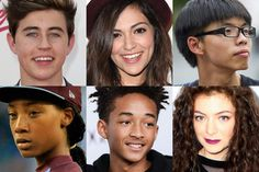 An interesting list of influential young teens, covering sports, activists, education, celebrities, entrepreneurs.    #influentialteens #youngentrepreneurs #inspiringyoungpeople