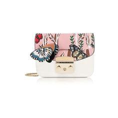Furla Designer Handbags Petalo Metropolis Mini Crossbody Bag w Detachable  Butterfly Flap ae66c5c1cd