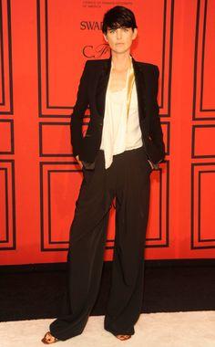 Stella Tennant in Altuzarra at 2013 CFDA Awards