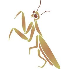 stencils of praying mantis  | Click on above image to view full picture