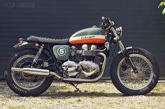 Patrick Crépelle's Bonneville T100 shows how Triumph's 'modern classic' can be…