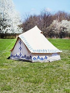 I would consider camping out in this tent only because it is cute! .... okay, that may be a lie.