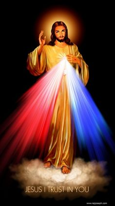 Venerate this Image of Divine Mercy.