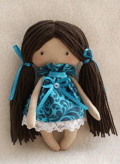 Muñeca DIY Kit Easy de hacer! Kristie Primitive tela muñeca haciendo fuente chica tela artística kit de muñecas de trapo con el patrón de costura