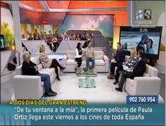 """El ACTOR PABLO RIVERO en preestreno en Zaragoza de DE TU VENTANA A LA MÍA capturas del programa de Aragón tv """"Sin ir más lejos"""" (7 marzo 2012)"""