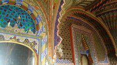 Details in the interior of Castello di Sammezzano in #Tuscany