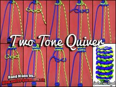 Two Tone Quiver Tutorial | Swiss Paracord