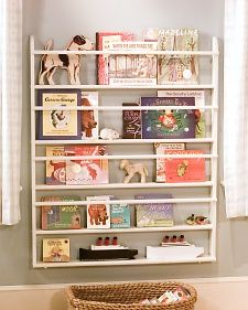 Making Children's Bookshelves | Martha Stewart