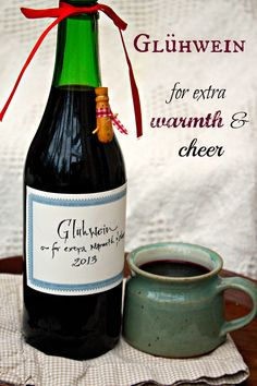 Glühwein recipe (pronounced glue-vine) - mulled wine
