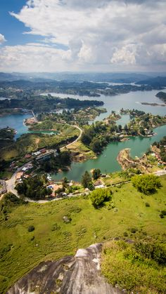The Rock of Guatape, Colombia. What a fantastic view!