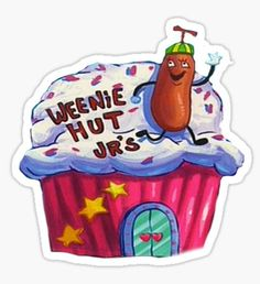 Weenie Hut, Jr. Spongebob Squarepants by Call Me Creed