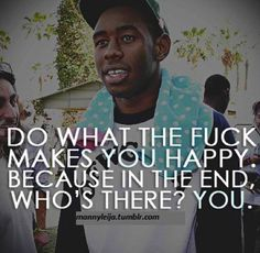 Tyler The Creator Quotes Alluring Omg I Love This Quote Tyler The Creator X   Vibes
