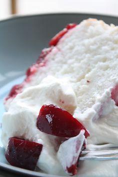 Bites of Sweetness: angel food cake: back to basics