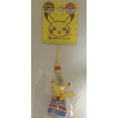 Pokemon Center 2012 Pikachu Pokemon Center Mobile Phone Strap