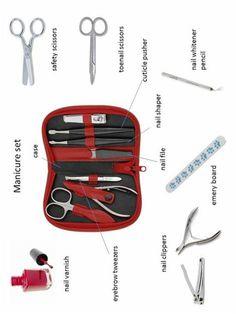 Manicure set, #englishvocabulary