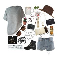 """39 Oh it took me by surprise when all the hunger left your eyes, and you never told me why, only that it's best if we try just to forget ❀"" by ferrrrnandas on Polyvore featuring moda, Levi's, Kenneth Cole, J.Crew, Yves Saint Laurent, Dolce&Gabbana, Topshop, H&M, Chanel y Madewell"