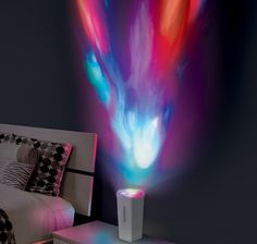 Illuminate your room with the colorful power of music. - http://noveltystreet.com/item/15761/
