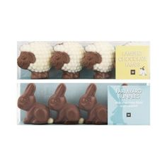 Mini Farmyard Chocolates 4Pk Farm Yard, Dog Food Recipes, Lamb, Bunny, Pets, Chocolates, Mini, Easter, Cute Bunny