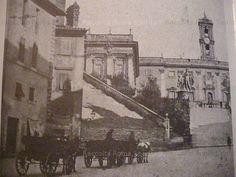 Campidoglio 1880 ANTE VITTORIANO