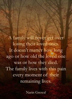 Absolutely true ... desperately sad, yet you couldn't bear for it to be any other way ... double-edged sword of grief : (