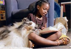 Just think about the impact we can make with children by connecting with them through our animals in this wonderful program! Description from readdogsmn.org. I searched for this on bing.com/images
