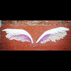 street art wings - Google Search