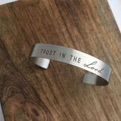 Trust in the Lord Cuff