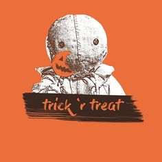 Trick 'r Treat // #halloween #trickortreat #trickrtreat #sam #redbubble #artwork #vector